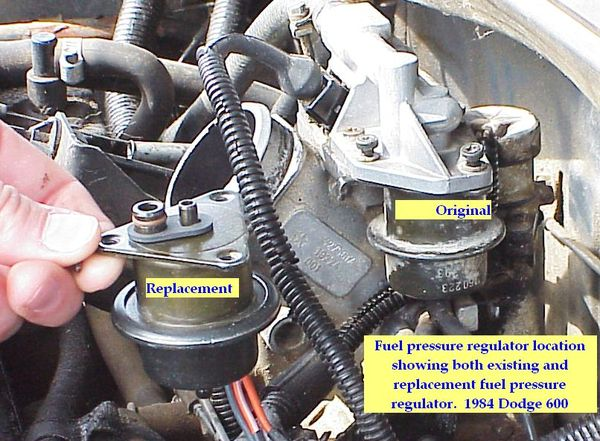 1984 Dodge 600, 2 2 Liter engine, TBI, Auto Trans - repair pages