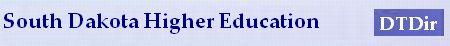 Dtdir_South Dakota Education