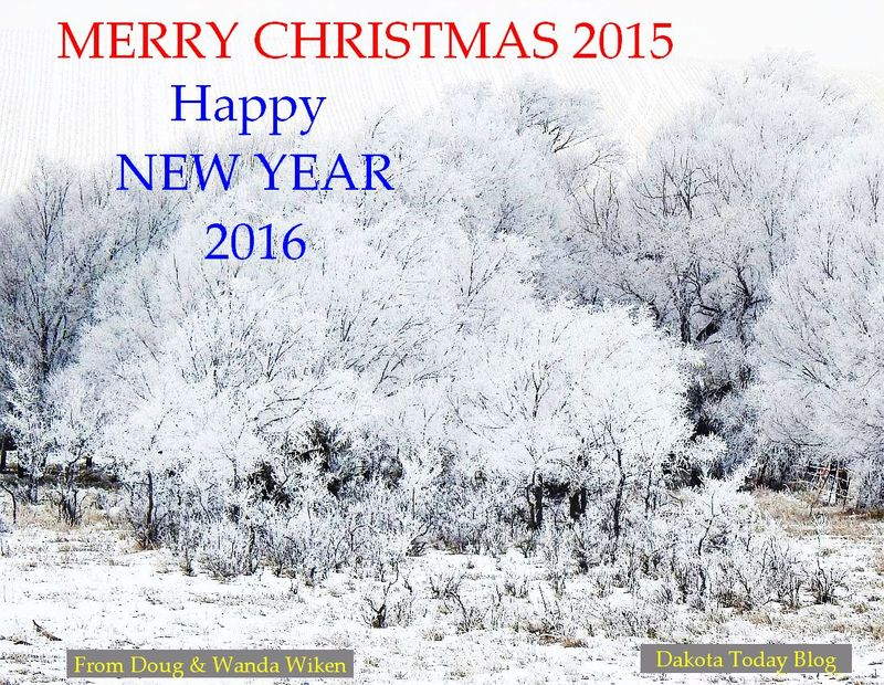Christmas Greeting 2015 for Dakota Today