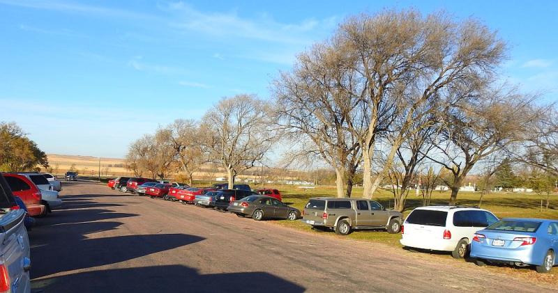 Voting_Cars at 4-H Center Nov8_2016